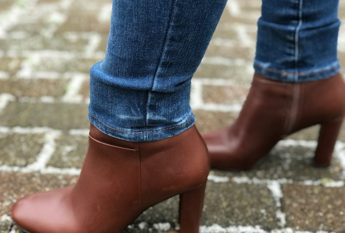 Ann Taylor booties